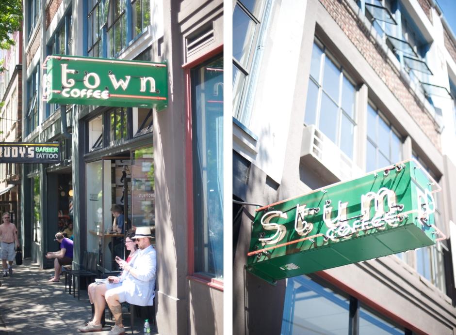 SEATTLE STUMP TOWN COFFEE