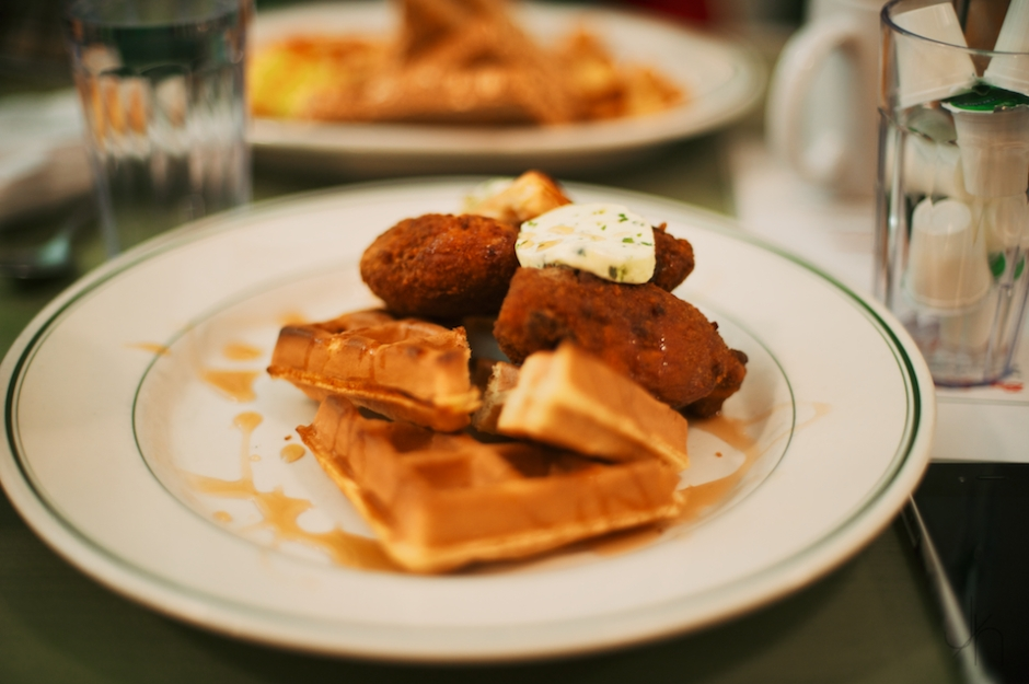 CHICKEN AND WAFFLES, SAVE ON MEATS VANCOUVER