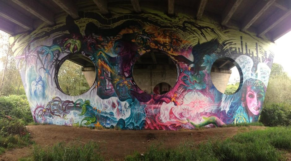 LUKE HUNTER MURAL ARTIST